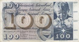 Billet De 100.- De 1970 - Switzerland