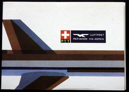 Switzerland, 1981, Pro Aero - 5 Airmail Letters Carried With Anniversary Flights  ( Lot 386 ) - Svizzera