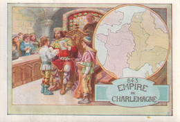 Chromos Image   Empire De Charlemagne - Autres