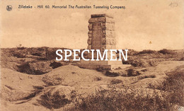 Hill 60 Memorial The Australian Tunnel Company - Zillebeke - Ieper