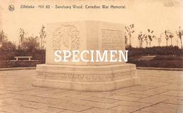 Hill 60 Memorial Santuary Wood Canadian War Memorial - Zillebeke - Ieper