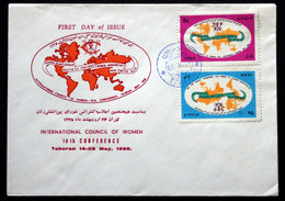 Iran 1966 International Council Of Women 18th Conference FDC ( Lot 388 ) - Irán