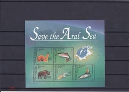 1996. Uzbekistan. Save The Aral Sea (Mi. Bl.12) MNH - Uzbekistan