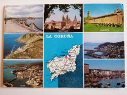 SPAIN  POSTCARD. PROVINCIA DE LA CORUNA - Spagna