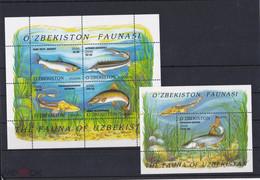 2006. Uzbekistan. Fauna. Fishes (Mi. 621/25 (Bl.41/42)) MNH - Uzbekistan