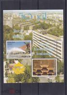 2008. Uzbekistan. Navoiy City And Navoiy Iron And Steel Works (Mi. Bl.51) MNH - Uzbekistan
