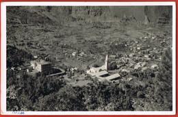 LA REUNION- CILAOS- Le Village Vu Du Belvédère- Photographie A.ALBANY -   Cpsm écrite - Unclassified