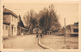1940 - Cabannes - Les Bains, Le Lavoir, L'Abattoir - Otros Municipios