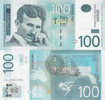 Serbia 2013 - 100 Dinars - Pick 57b UNC - Serbia
