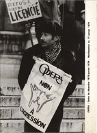 CPM Paris 2e - L'Opéra - Manifestation Du 17 Javier 1979 (54121) - Manifestazioni