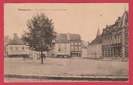 Philippeville - Grand'Place Et Banque Nationale - 1926 ( Voir Verso ) - Philippeville
