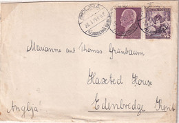 POLAND 1938 Moscicki Cover GOLINA To UK - 1919-1939 Republic