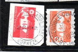 FRANCE  OB CACHET ROND YT N° 7/8 - KlebeBriefmarken
