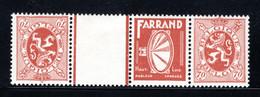 PUc43B MNH 1929-1932 - 70 Cent Farrand - Advertising