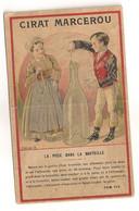 1903 CALENDRIER CHROMO PETIT FORMAT CIRAGE MARCEROU    C1066 - Petit Format : 1901-20