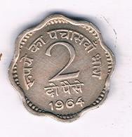 2 PAISE 1964 INDIA /7534/ - India