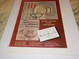 ANCIENNE PUBLICITE  ORFERVRES BOUILLET BOURDELLE 1972 - Posters