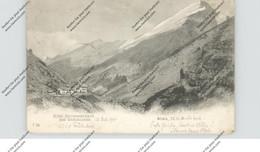 CH 3954 LEUKERBAD VS, Gemmi-Passhöhe, Hotel Schwarenbach, 1901 - VS Valais