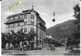Lombardia-sondrio-tirano Viale Italia Veduta Anni 50 - Italy