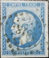 N°14Bc. Oblitéré Losange P.C. N°1818 Lyon. Superbe.... - 1853-1860 Napoléon III
