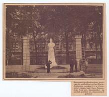 Orig. Knipsel Coupure Tijdschrift Magazine - Oostende - Onthulling Standbeeld Beernaert  - 1927 - Unclassified