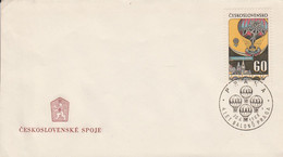 TCHECOSLOVAQUIE FDC 1968 MONTGOLFIERE - FDC