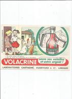 BUVARD  ANCIEN / VOLACRINE LIMOGES MALADIE POULE POULET BASSE COUR ARGENT - Chemist's