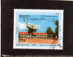 KAMPUCHEA  1989  Y.T. N° 854  Oblitéré - Kampuchea