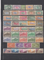 84 TIMBRES REUNION OBLITERES & NEUFS** & * DE 1900 à 1967     Cote : 75,35 € - Gebraucht