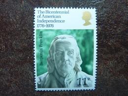 1976 Bicentenary Of American Revolution   SG = 1005  ** MNH - 1952-.... (Elizabeth II)