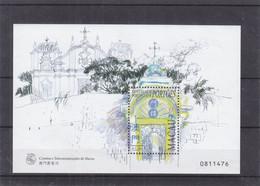 Macao - Yvert BF 51 ** - églises - 1999-... Sonderverwaltungszone Der China