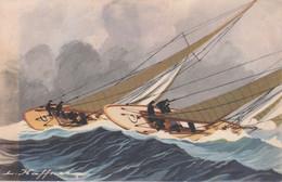 Yatchts De Courses Croisières Courant Bord à Bord (illustrateur Haffner) - Velieri