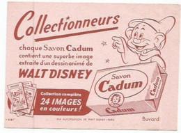 BUVARD  ANCIEN PETIT FORMAT / Savon Wald Disney Cadum WALD DISNEY CADUM SAVON - Blotters