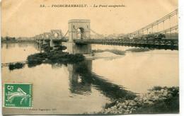 - 58 -NIEVRE-FOURCHAMBAULT - Le Pont Suspendu - Puentes