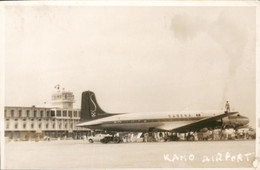 Nigeria - Photocard Fotokaart - Kano Aiport - Sabena Airplain Vliegtuig - 1960 - Nigeria