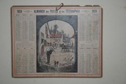 Almanach   - 1924 - Ferme En Beauce - Calendars