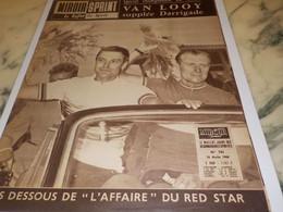 ANCIENNE REVUE LE MIROIR SPRINT VAN LOOY ET RED STAR 1960 - Altri