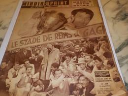 ANCIENNE REVUE LE MIROIR SPRINT COUPE DE FRANCE REIMS 1958 - Altri