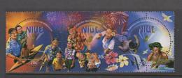Niue  939-41 1999 New Millennium Mint Never Hinged - Niue