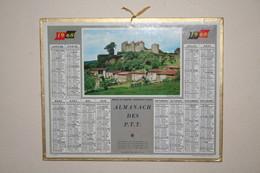 Almanach Des P.T.T   - 1968 - Berze Le Chatel - Calendari
