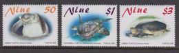 Niue  962-64 2001 Turtles Mint Never Hinged - Niue