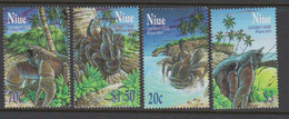Niue  965-68 2001 Crusteceans  Mint Never Hinged - Niue