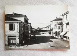 Cartolina Illustrata Eraclea - Via A.Diaz, Viaggiata Per Bologna 1958 - Otras Ciudades