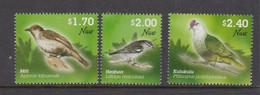 Niue  1189-91 2011 Birds Mint Never Hinged - Niue
