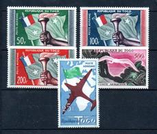 L31  Togo PA N° 29 à 33 ** - Togo (1960-...)