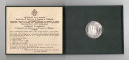 San Marino - 1977 - Lire 1000 - VI° Centenario Della Nascita Di Filippo Brunelleschi - Argento - (FDC24956) - San Marino