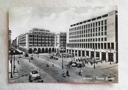 Cartolina Illustrata Livorno - Piazza Grande, Viaggiata Per Bologna 1958 - Livorno