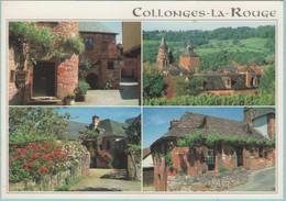 CPM:  COLLONGES-LA-ROUGE (Dpt19):     Multivues.  (G404) - Altri Comuni