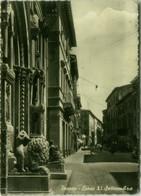 PESARO - CORSO XI SETTEMBRE - EDIZIONE L'ADRIATICA - SPEDITA 1957 (BG6062) - Pesaro