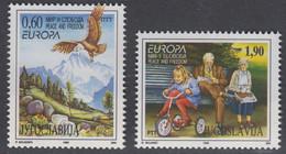 Europa Cept 1995 Yugoslavia 2v  ** Mnh (50142L) ROCK BOTTOM - Europa-CEPT